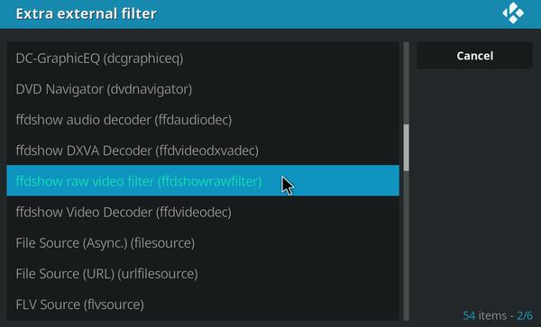 kodi software vs hardware decoding